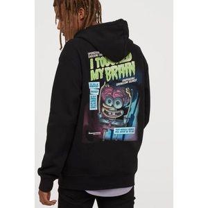 H&M X Spongebob Homage Skater Hoodie